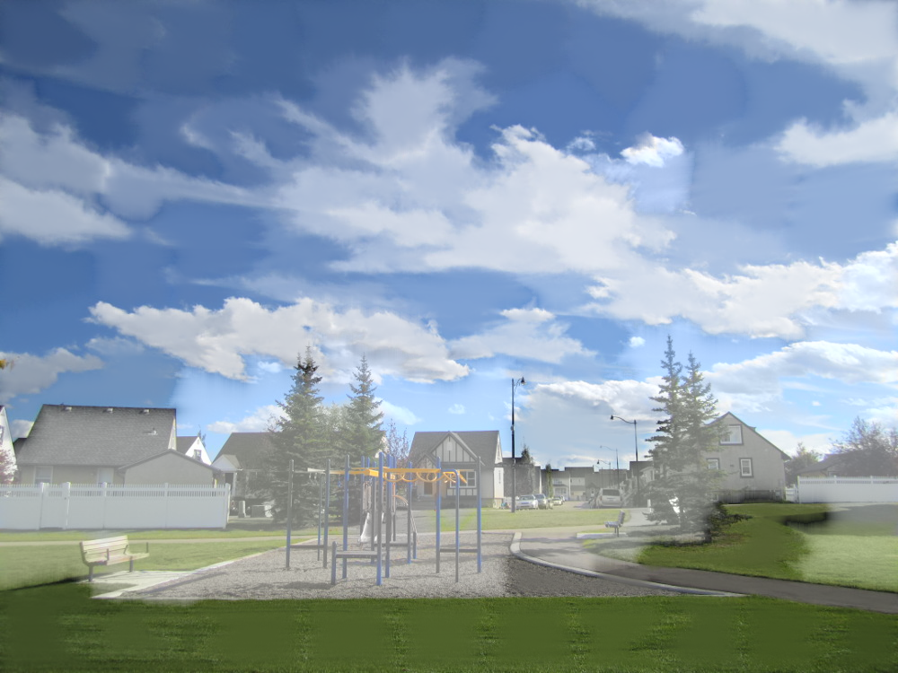 Swing set, SLIC, decay of 0.9, smooth blending