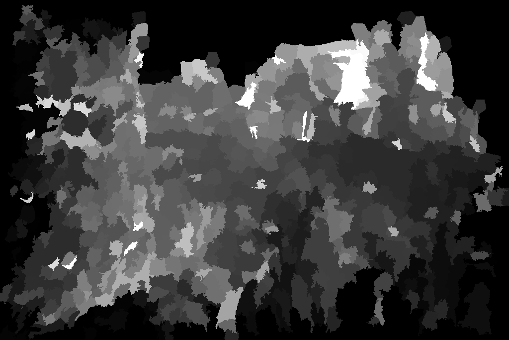 Arch image salience map produced with the method from [4]