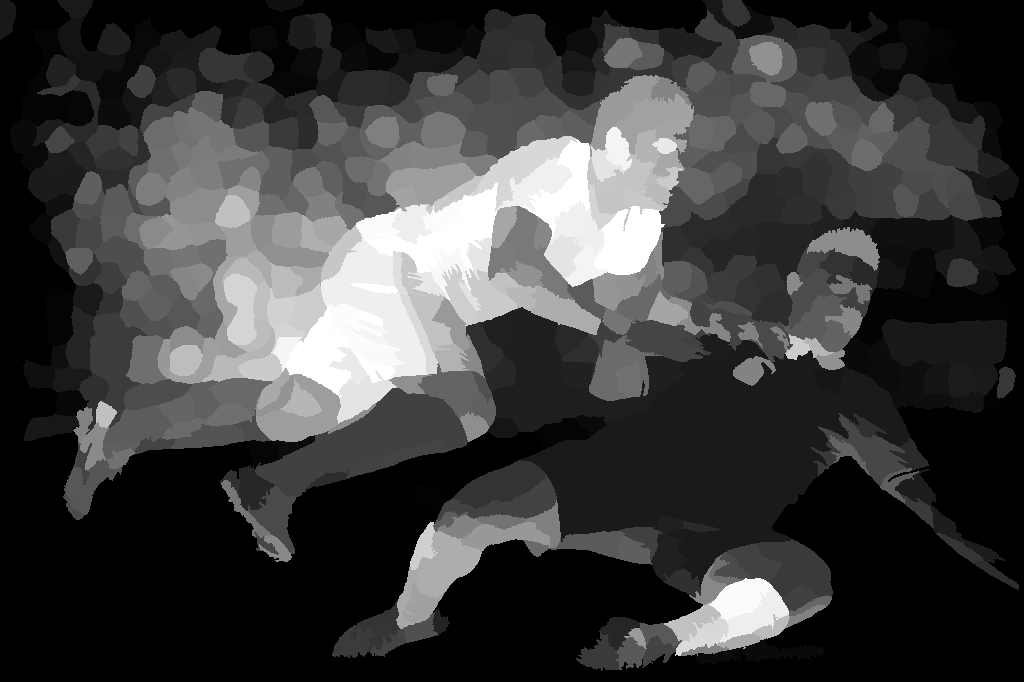 Athletes image salience map produced with the method from [4]